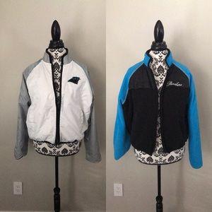 Carolina Panthers reversible jacket